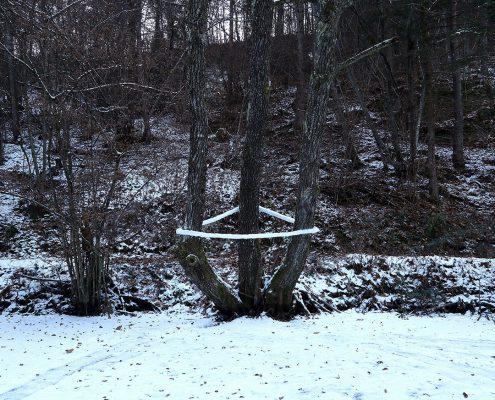 Schnee-Dreieck / Snow-Triangle