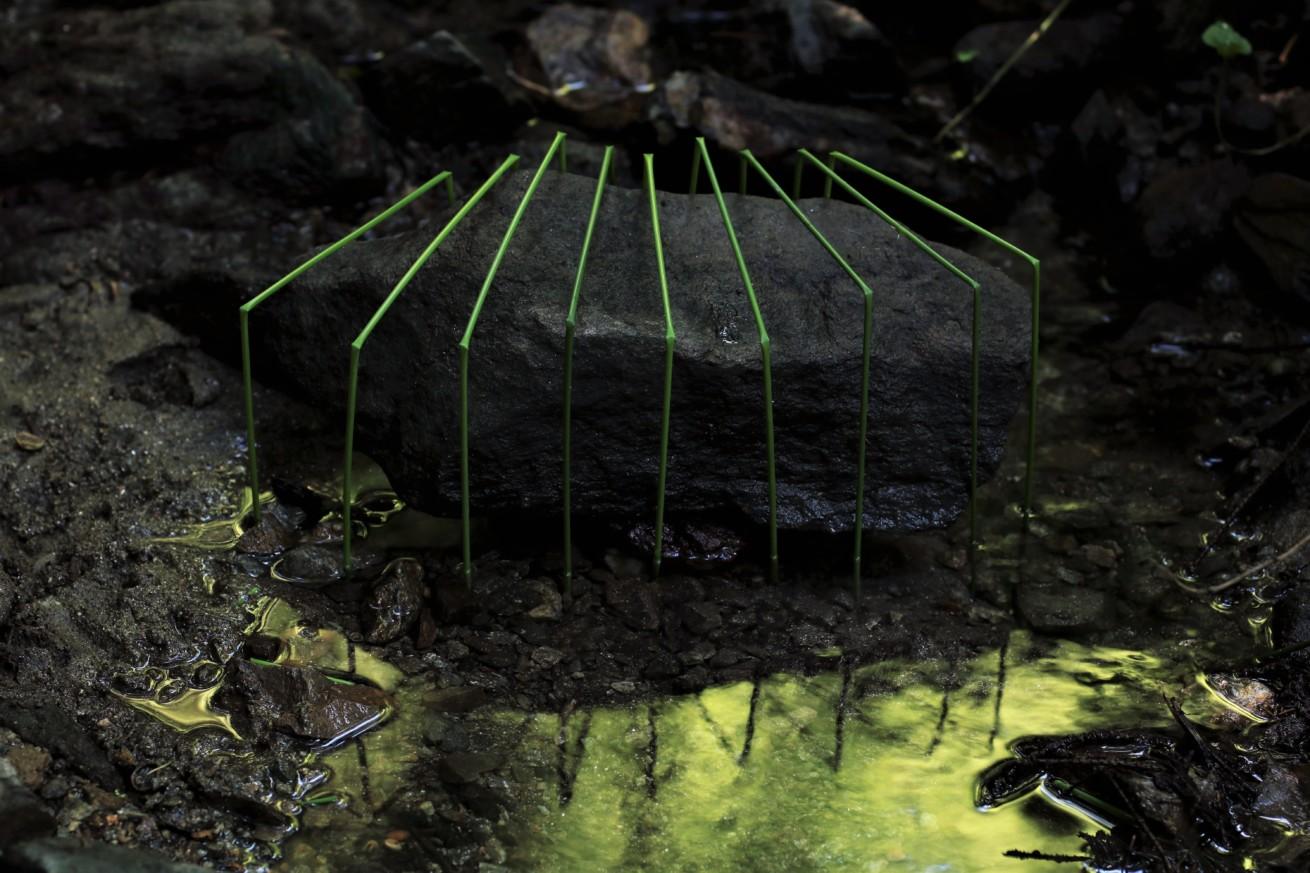 Gefangener Stein / Trapped stone