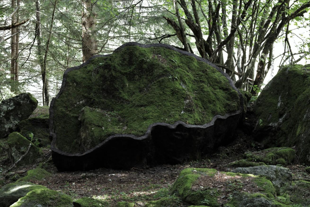 Gerahmter Felsen / Framed rock