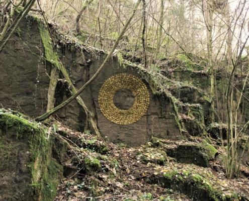 Blätterring / Ring of leaves